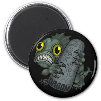MYTHOS: Dagon 2 Inch Round Magnet
