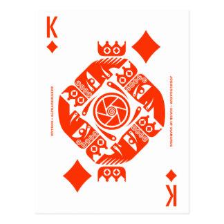 Mythos Jormungandr King of Diamonds Postcard