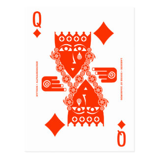 Mythos Lakshmi Queen of Diamonds Postcard