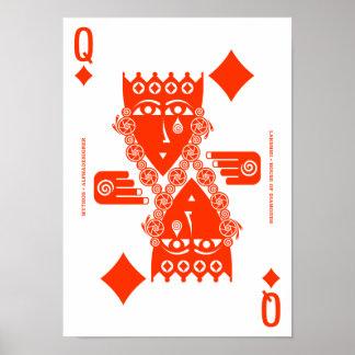 Mythos Lakshmi Queen of Diamonds Poster
