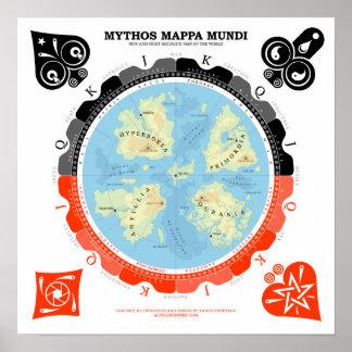 Mythos Mappa Mundi Poster