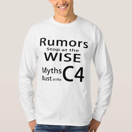 Myths Bust at the C4 Shirt - Long Sleeves