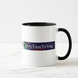 Mytimetovote Doggie Ringer T-Shirt Mug