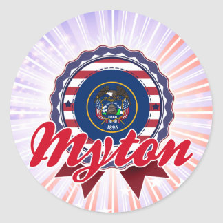 Myton UT Stickers
