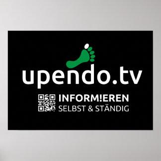 myUPENDO 48cm x 33cm, Laso (www.upendo.tv) Póster
