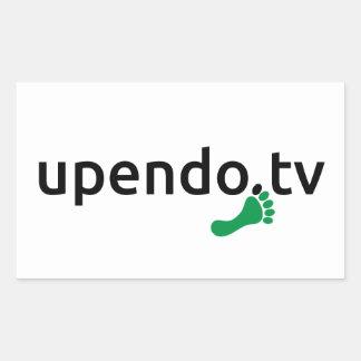 myUPENDO rectangular stickers (www.upendo.tv)