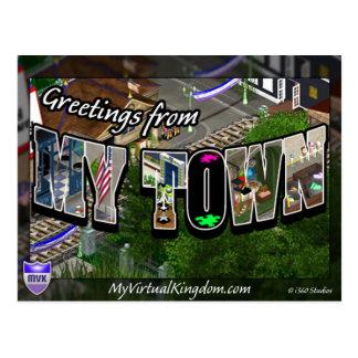 MyVirtualKingdom Postcard My Town