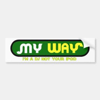 myway pegatina para auto