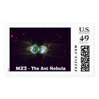 mz3_3Web, MZ3 - The Ant Nebula Postage Stamp