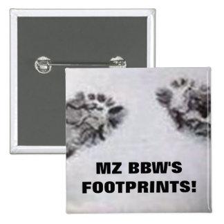 MZ BBW'S FOOTPRINTS PINS