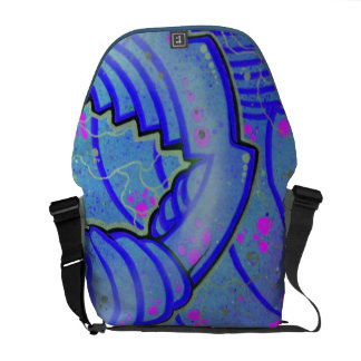 mzobcn, graffiti, Design Courier Bag