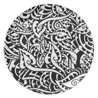 mzobcn graffiti, teller, design platos