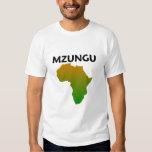 mzungu afrika tee shirts
