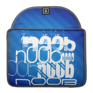 n00b; Royal Blue Stripes Sleeve For MacBooks