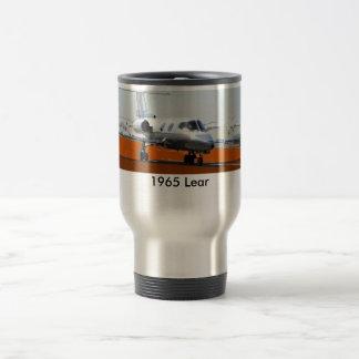 N1965L, 1965 Lear 15 Oz Stainless Steel Travel Mug
