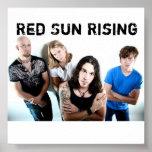 n23318857_37234415_1912, levantamiento rojo de Sun Poster