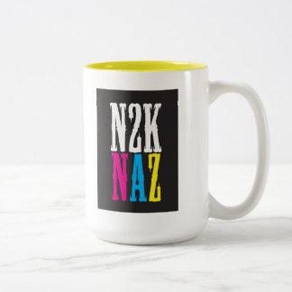 """""""N2K NAZ"""" Two-Tone COFFEE MUG"""