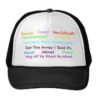 N3verDraft! It's Mine Trucker Hat