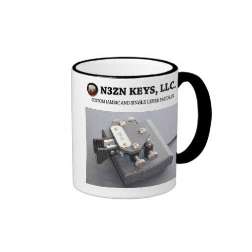 N3ZN KEYS, LLC ZN-9A IRONMAN MUG