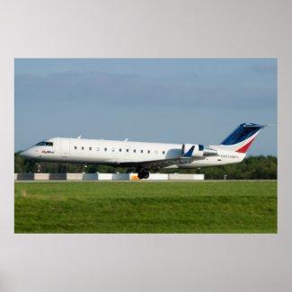 N405SW Skywest Canadair CRJ-200ER Print
