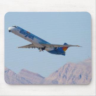 N415NV Allegiant Air MD-82 mousepad