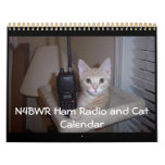 N4BWR Ham Radio and Cat Calendar