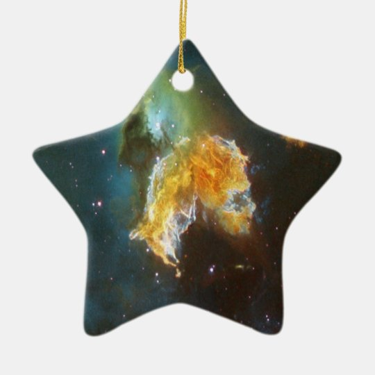 N63A Lady of the night sky Ceramic Ornament