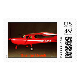 N714NY, Orange Crush Stamps