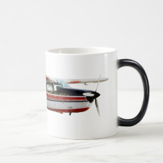 N777WL Black/White 11 oz Morphing Mug