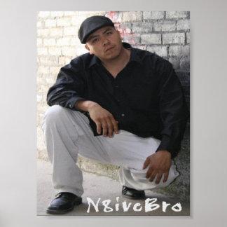 N8iveBro-Canvas Print