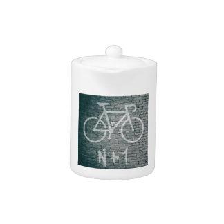 N+1 Bike Graffiti Teapot