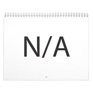 N/A WALL CALENDARS