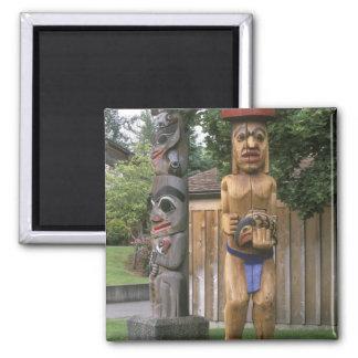 N.A., Canadá, Columbia Británica, Vancouver 2 Imán Cuadrado