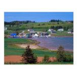 N.A. Canadá, Isla del Principe Eduardo. Los barcos Tarjeta Postal