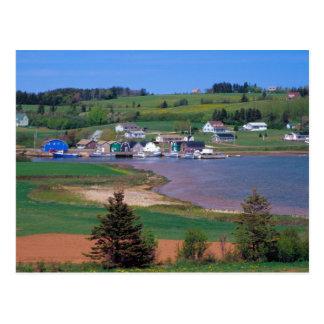 N.A. Canadá, Isla del Principe Eduardo. Los barcos Tarjetas Postales