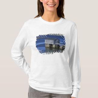 N.A., Canada, Newfoundland, Durrell. Fishing T-Shirt