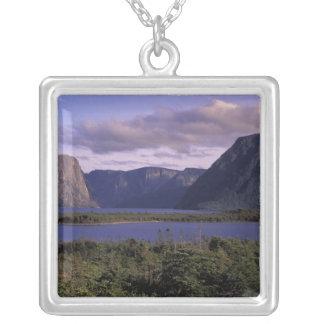 N.A., Canada, Newfoundland, Gros Morne National 2 Square Pendant Necklace