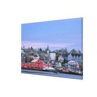 N.A. Canada, Nova Scotia. A view of Lunenburg, a Canvas Print
