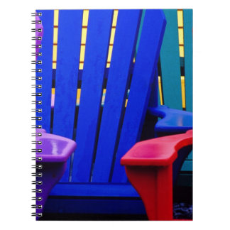 N.A. Canada, Nova Scotia, Bridgewater. Colorful 2 Notebook