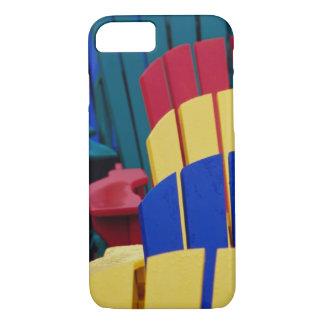 N.A. Canada, Nova Scotia, Bridgewater. Colorful 3 iPhone 8/7 Case