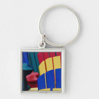 N.A. Canada, Nova Scotia, Bridgewater. Colorful 3 Keychain
