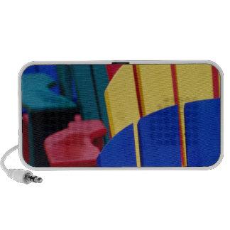 N.A. Canada, Nova Scotia, Bridgewater. Colorful 3 Mini Speaker
