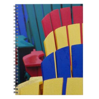 N.A. Canada, Nova Scotia, Bridgewater. Colorful 3 Notebook
