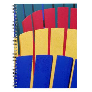 N.A. Canada, Nova Scotia, Bridgewater. Colorful Notebook