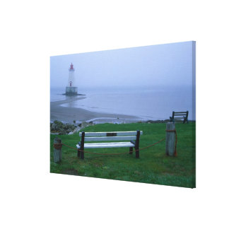 N.A. Canada, Nova Scotia, Shelburne County. 2 Canvas Print