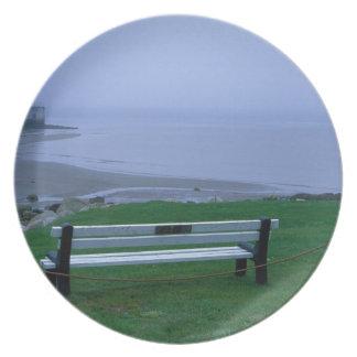 N.A. Canada, Nova Scotia, Shelburne County. 2 Party Plates