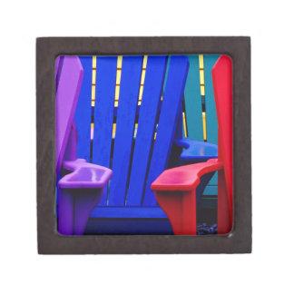 N.A. Canadá, Nueva Escocia, Bridgewater. 2 colorid Caja De Joyas De Calidad
