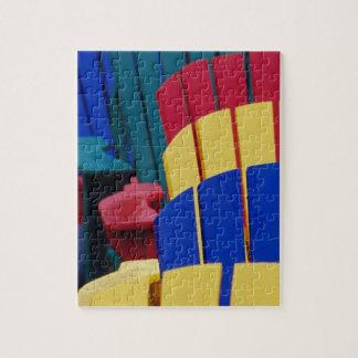 N.A. Canadá, Nueva Escocia, Bridgewater. 3 colorid Puzzle