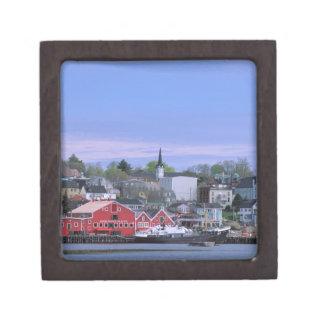 N.A. Canadá, Nueva Escocia. Una vista de Lunenburg Cajas De Joyas De Calidad