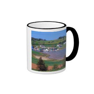 N.A. Canada, Prince Edward Island. Boats are Ringer Coffee Mug